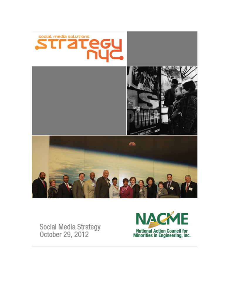 NACME Strategy
