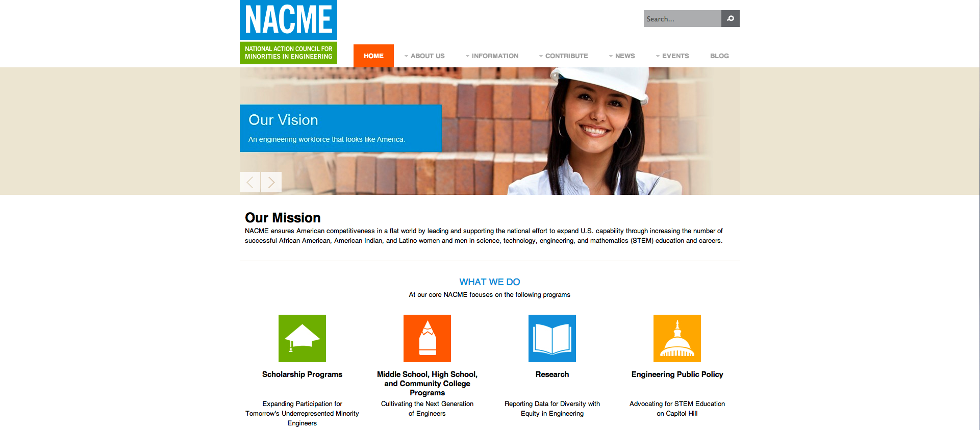 NACME Website