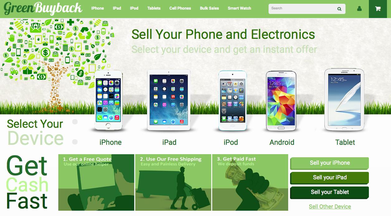 GreenBuyback Website